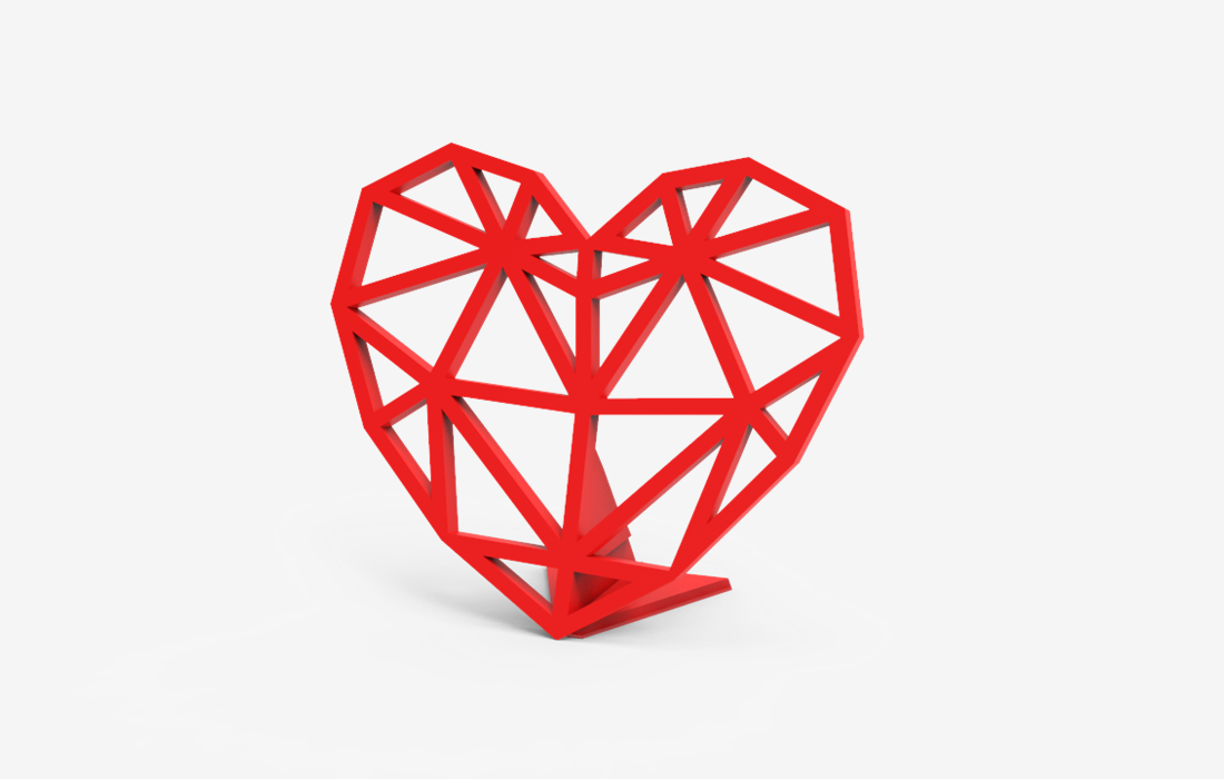 geometrical-heart-decoration
