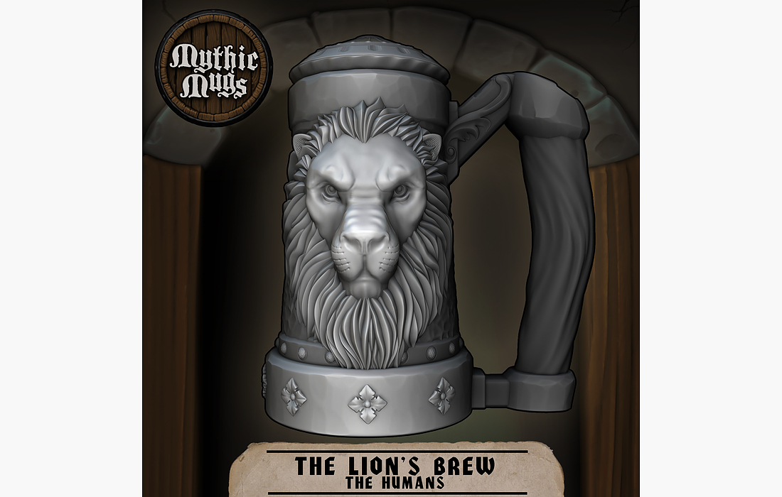 mythic-mugs-lions-brew-can-holder